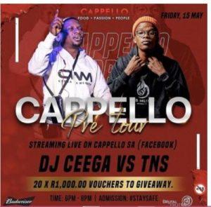 Ceega Wa Meropa - Cappello Pre Tour Mix