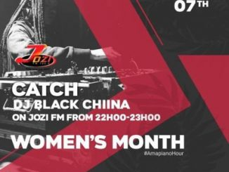 Black Chiina - JOZI FM Mix (Women's Month)